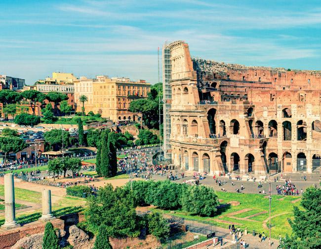 Itália giro em alto estilo