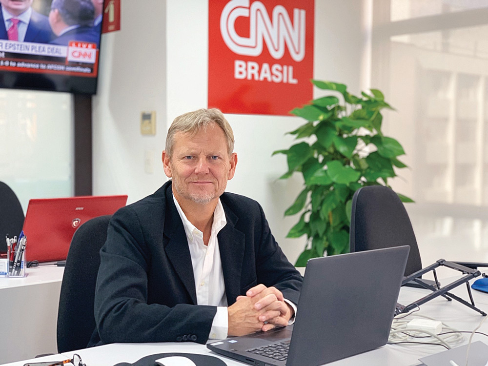 Anthony Doyle, VP de Distribuição